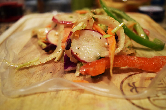 Farmer's Market Veggie Wrap