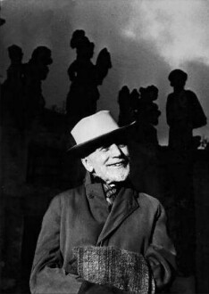 Berenson a Palermo nel 1953 (Foto Maraini)