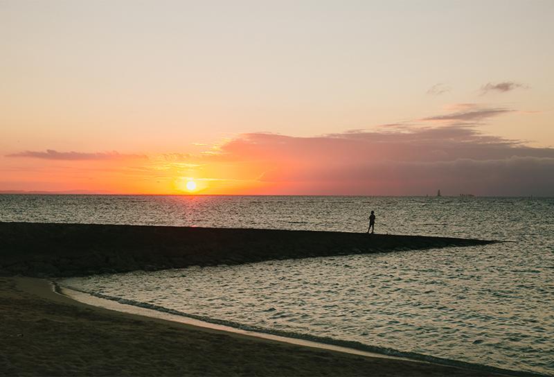 沖繩海灘景點宜野灣海濱公園