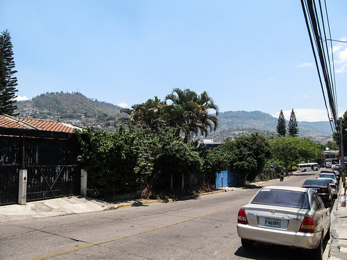 Tegucigalpa et ses collines