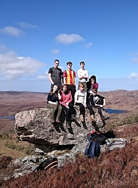 SQA Hillwalking assessment 2016