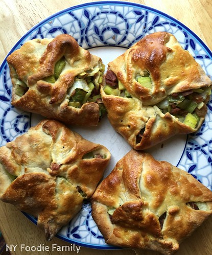 Ham and Leek Hand Pies