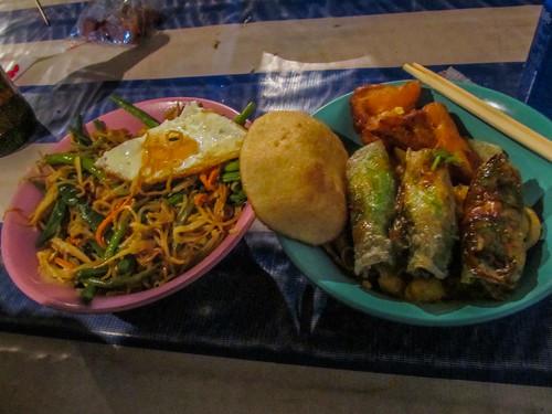 Luang Prabang:  street food