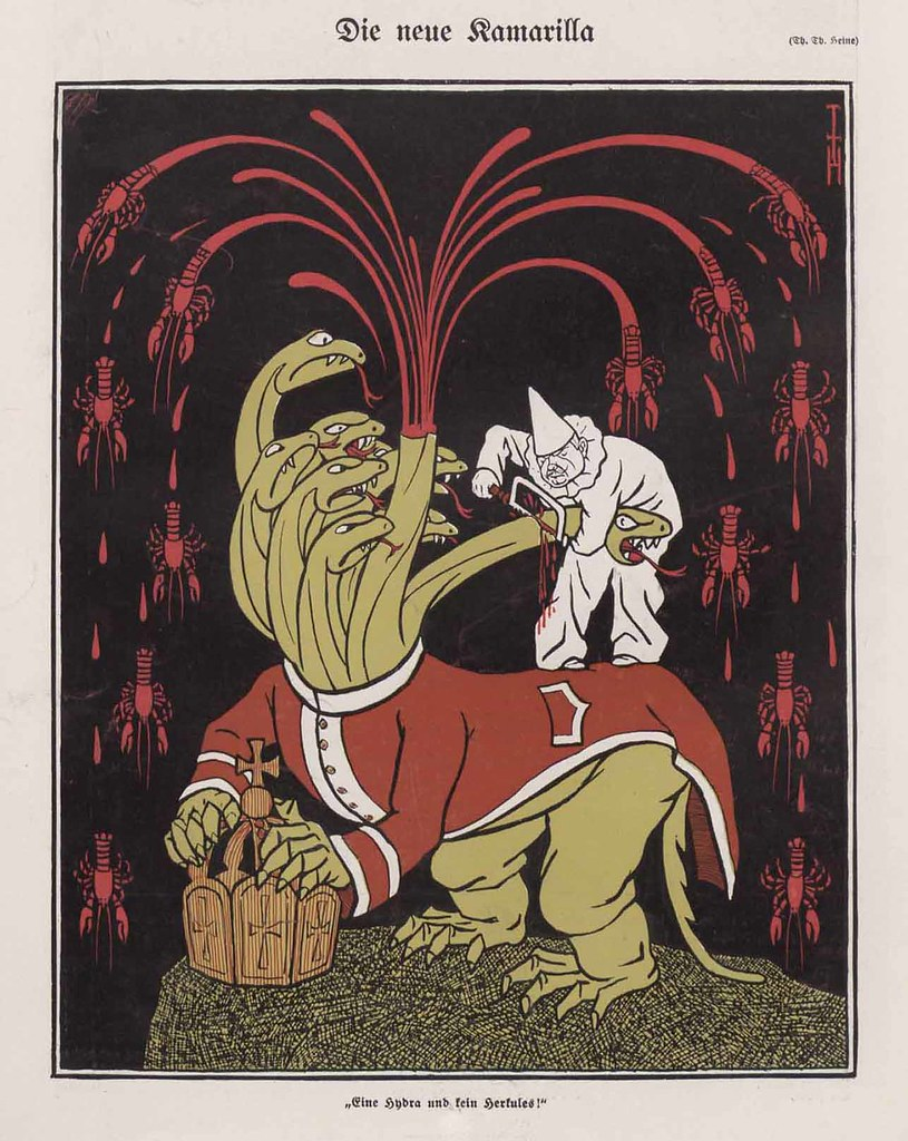 Thomas Theodor Heine - The New Camarilla, 1909