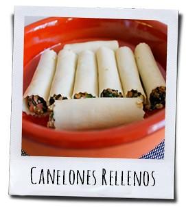 Rangschik de opgerolde Canelones in een vuurvaste ovenschaal