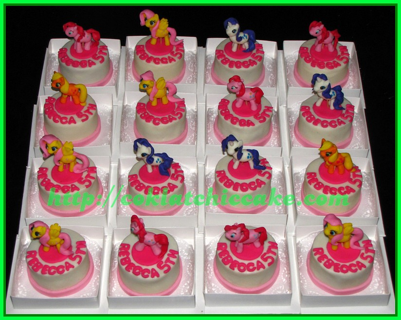 Minicake My Little Pony