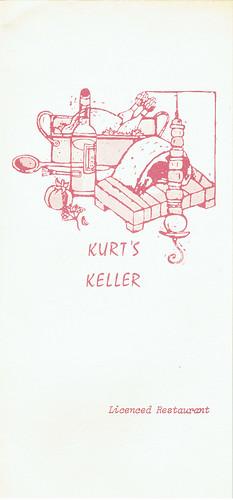 Keller Menu Page 1