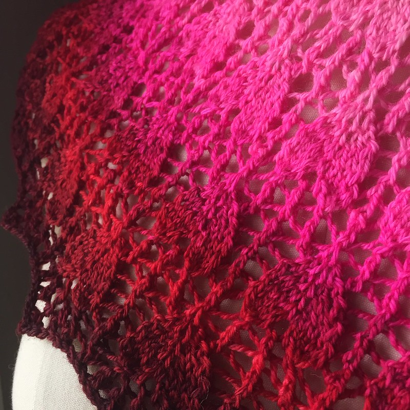 Exsanguine Shawl