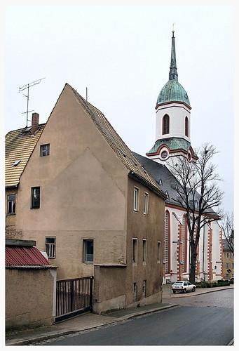 church architecture germany deutschland saxony kirche sachsen roswein