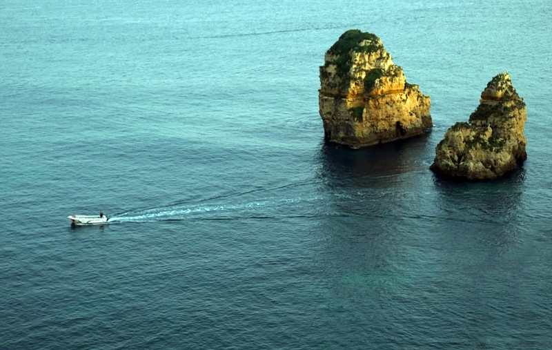 Rock Formations at Ponta Da Piedade