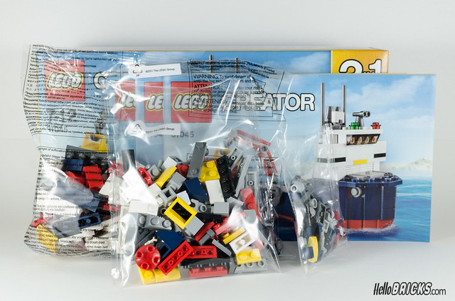 REVIEW LEGO Creator 31045 Ocean Explorer 03