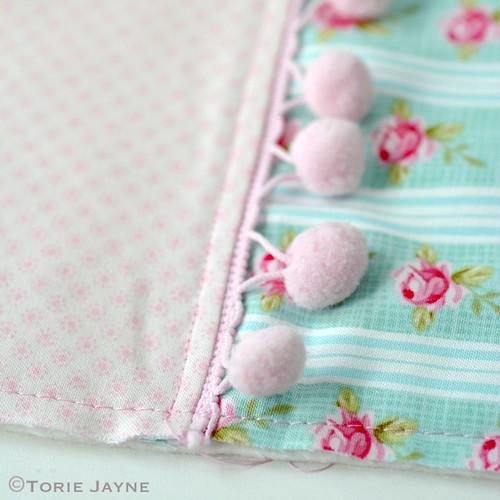 Pretty tote sewing tutorial 8