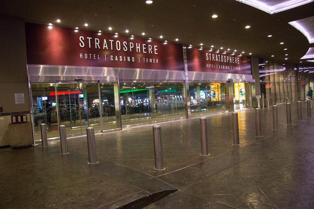 Stratosphere entrance