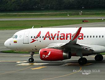 Avianca A319 (RD)