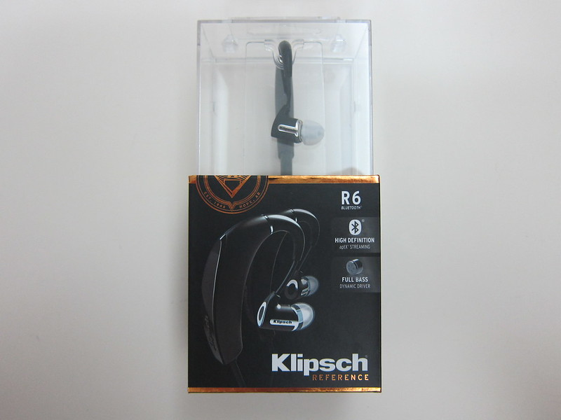 Klipsch R6 In-Ear Bluetooth Earphones - Box Front