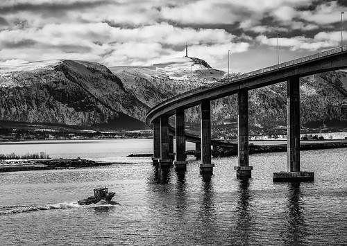 Bridge at  Stokmarknes - Norway