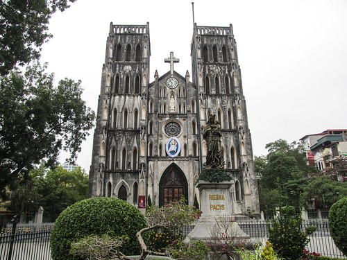 Hanoi: la Cathédrale Saint-Joseph