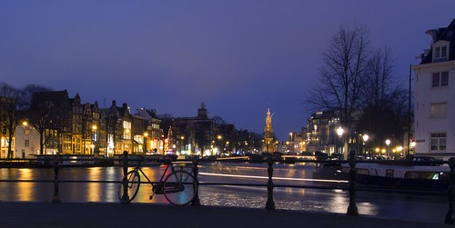amsterdam skyline landscape