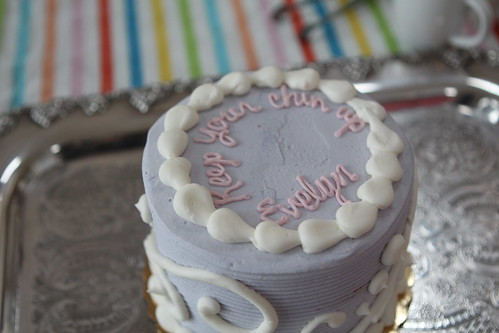 "Evelyn's ""Keep Your Chin Up"" Cake"