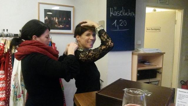 Backstage: La Reina Infeliz. Noticias de una Loca.