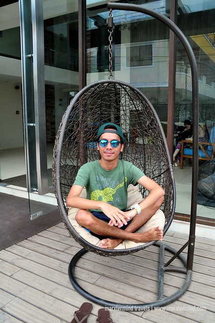 Lounging at Ferra Hotel Boracay