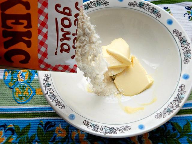 Апельсиновый кекс из готовой смеси в пакетике. Много красивых пошаговых фотографий, вердикт о вкусе, рекомендации и калькуляция стоимости. | Хорошо.Громко.