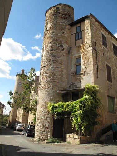 Private house with tower