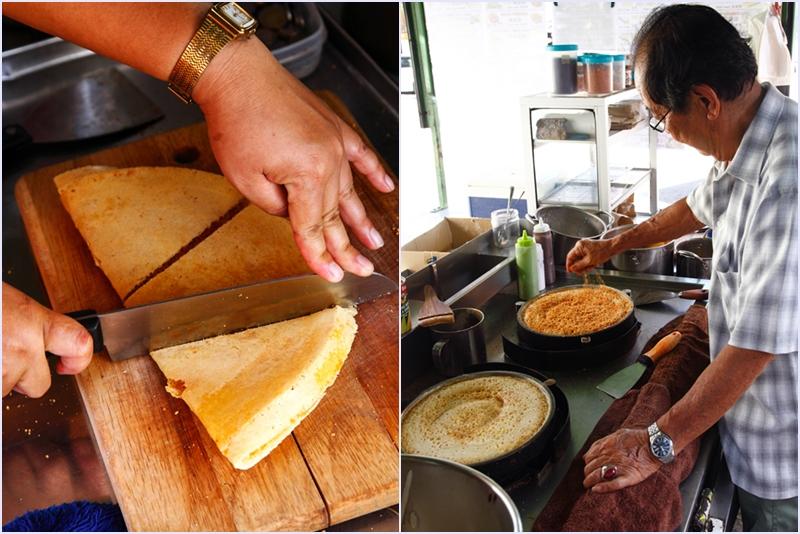Ding Heong Apam Balik Making Pancake