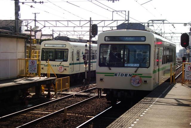 2016/01 叡山電車×NEW GAME! ラッピング車両 #51