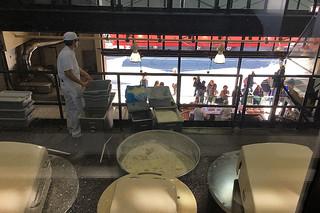 Boudin - Museum and Bakery Tour giant dough mixer