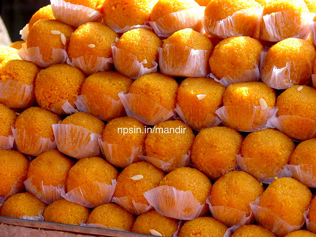 Motichoor Ladoo (मोतीचूर के लड्डू) are similar varient of bundi and loved by Lord Ganesh.