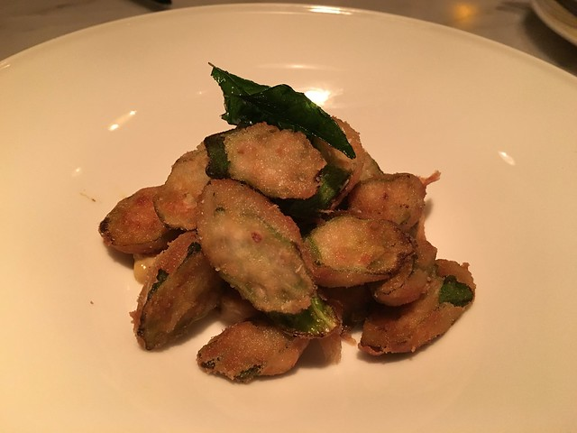 Crispy okra - 1601 Bar & Kitchen