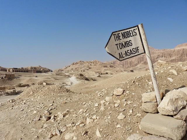 2015 Ägypten - Luxor - Privatgräber (Noblen-Gräber) 2/2