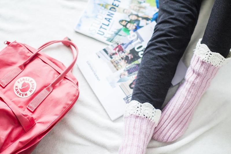 Rosa sokker