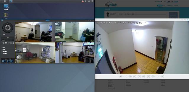 Synology Surveillance Station - DiskStation1512_和_mydlink