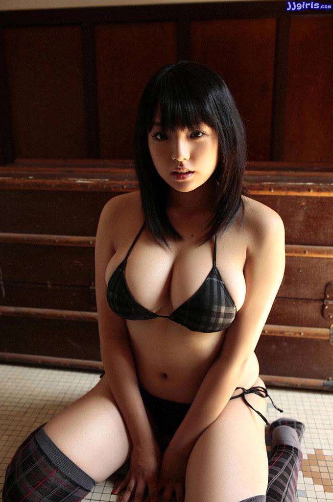 Ai Shinozaki Black Bikini (8)