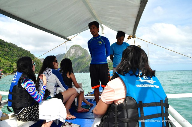 Joining Northern Hope Tours El Nido
