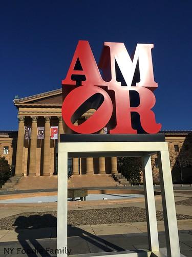 Amor Sign Philadelphia