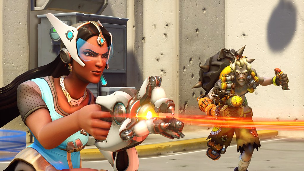 Overwatch on PS4