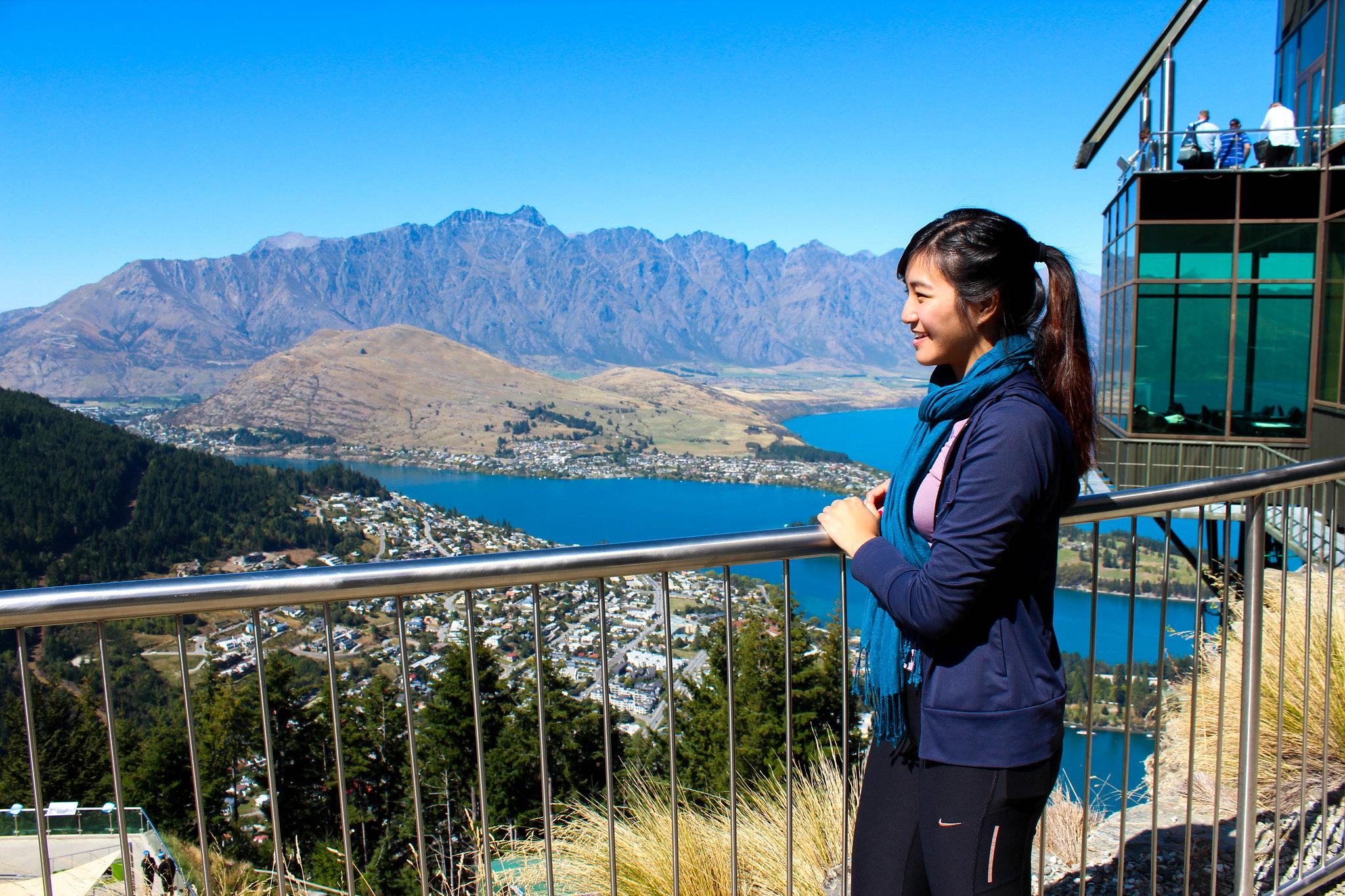 view from Skyline Gondola