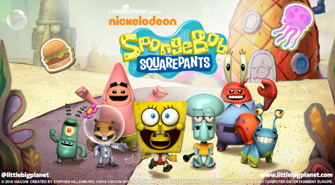 LittleBigPlanet 3 welcomes SpongeBob SquarePants DLC this week