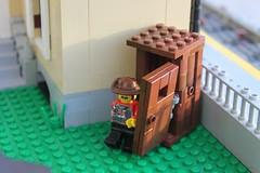 Brick Persia Train Station