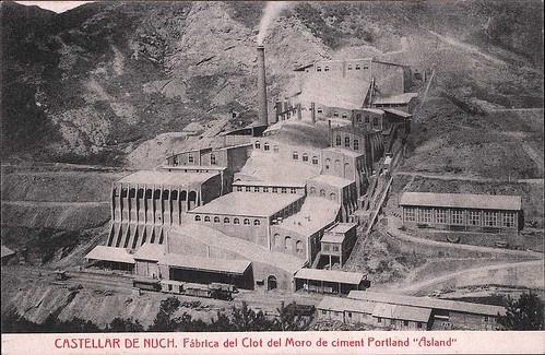 fàbrica Clot de Moro Asland Pobla de Lillet