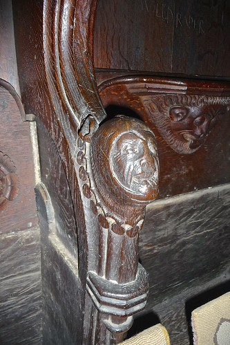 Newark, St Mary Magdalene - Misericords and Choir Stalls