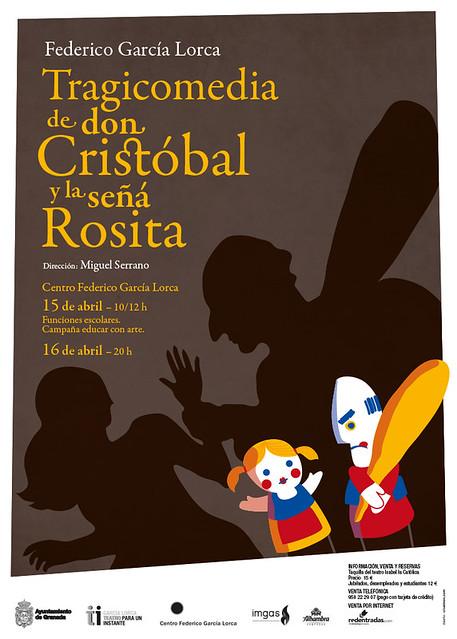F.G. Lorca - Tragicomedia de don Cristóbal y la señá Rosita