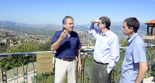 Ambassador's visit to the upper Galilee April 20, 2016