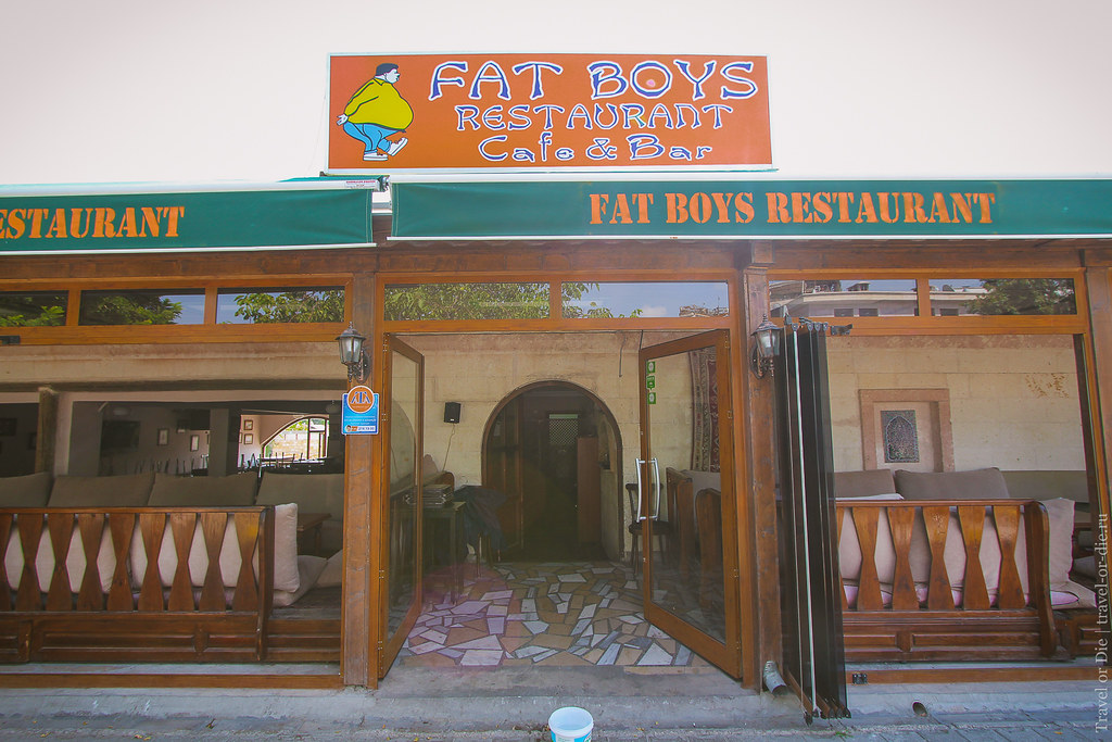 Fat Boys Restaurant in Göreme, Cappadocia