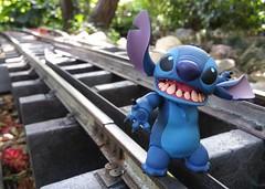 Walking the rails #stitch #railroad #toyphotography #toystagram