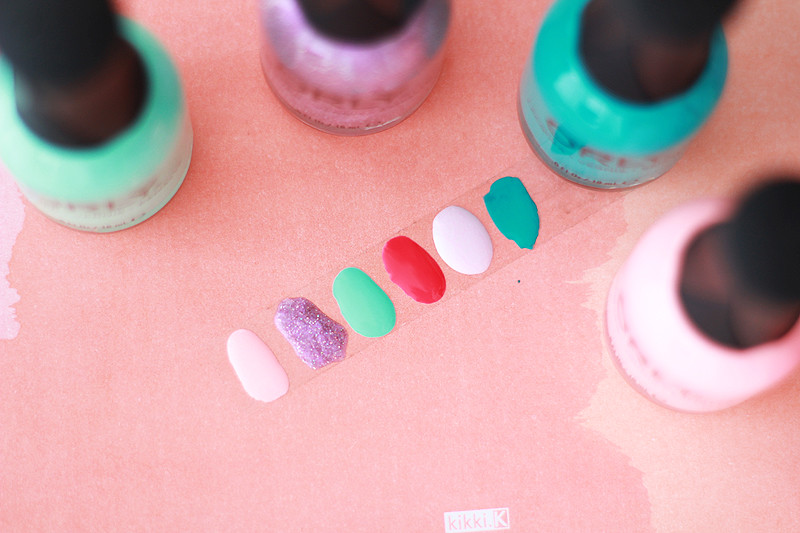 Orly Melrose Swatches