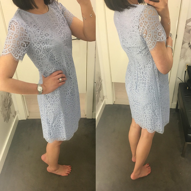 Ann Taylor Lace Shift Dress